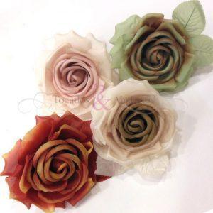 Rosa de seda 12cm