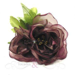 Flor tornasol y terciopelo
