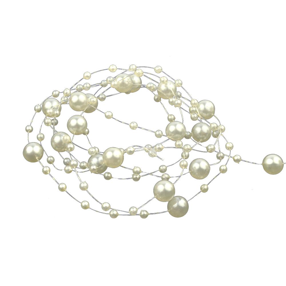 Hilo de perlas blanco