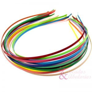 Diademas de colores 0.3cm