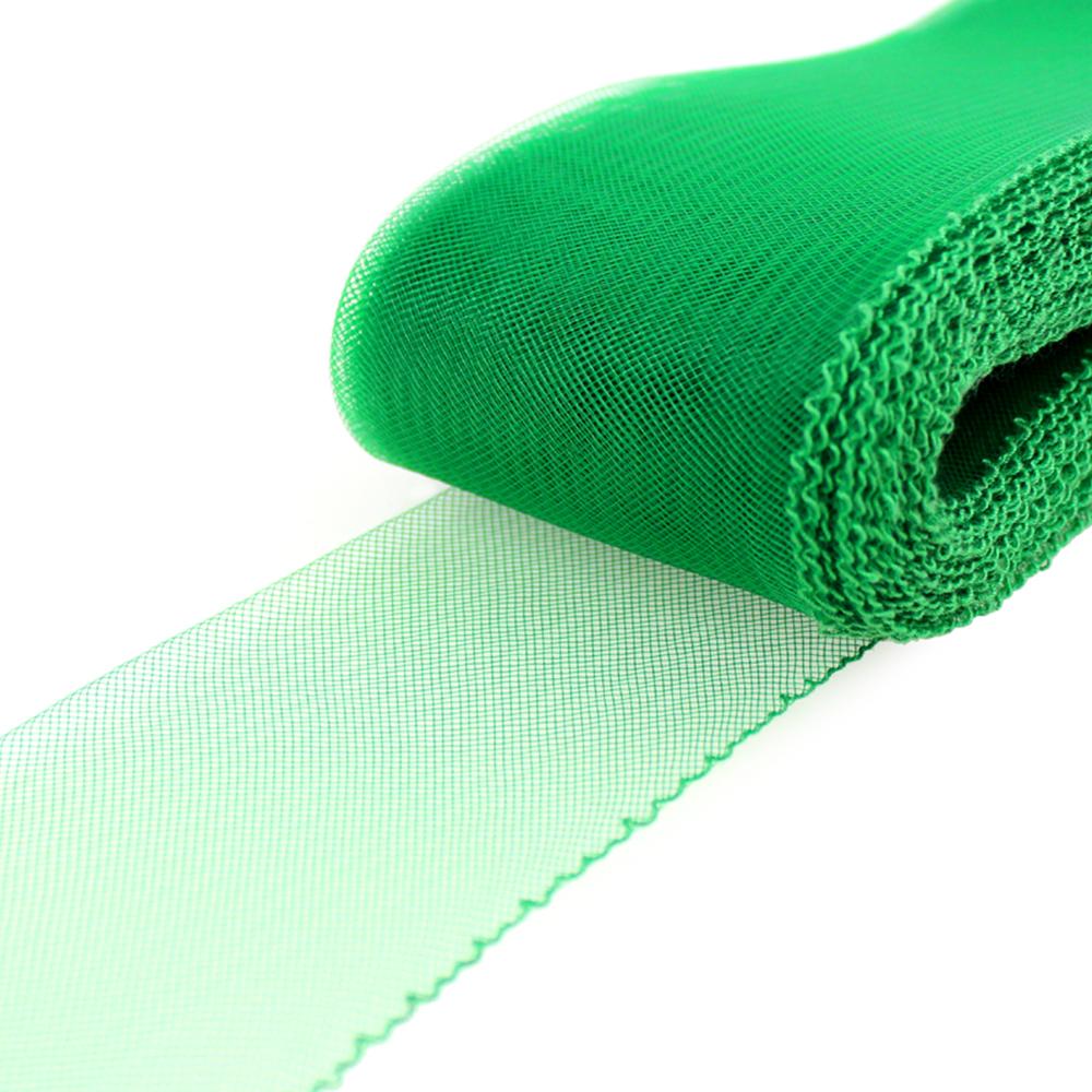 Crin 8 cm verde medio