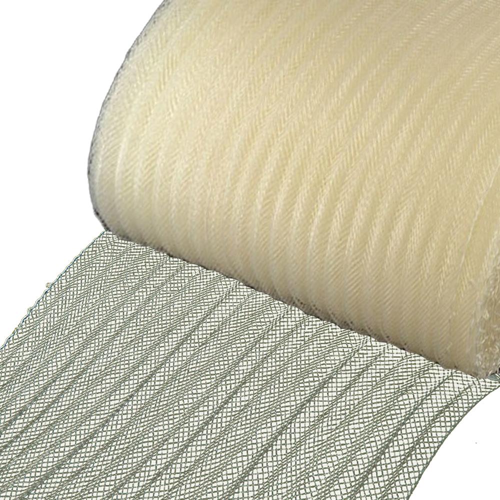 Crin ondulado 15 cm crudo