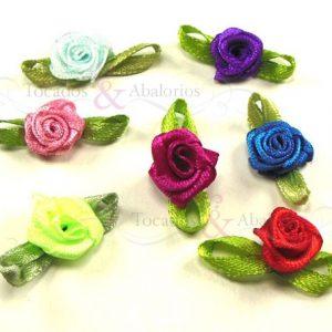 Flores de tela 1.5 cm