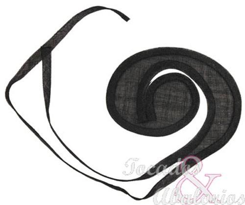 Base Espiral Sinamay 20X23 CM