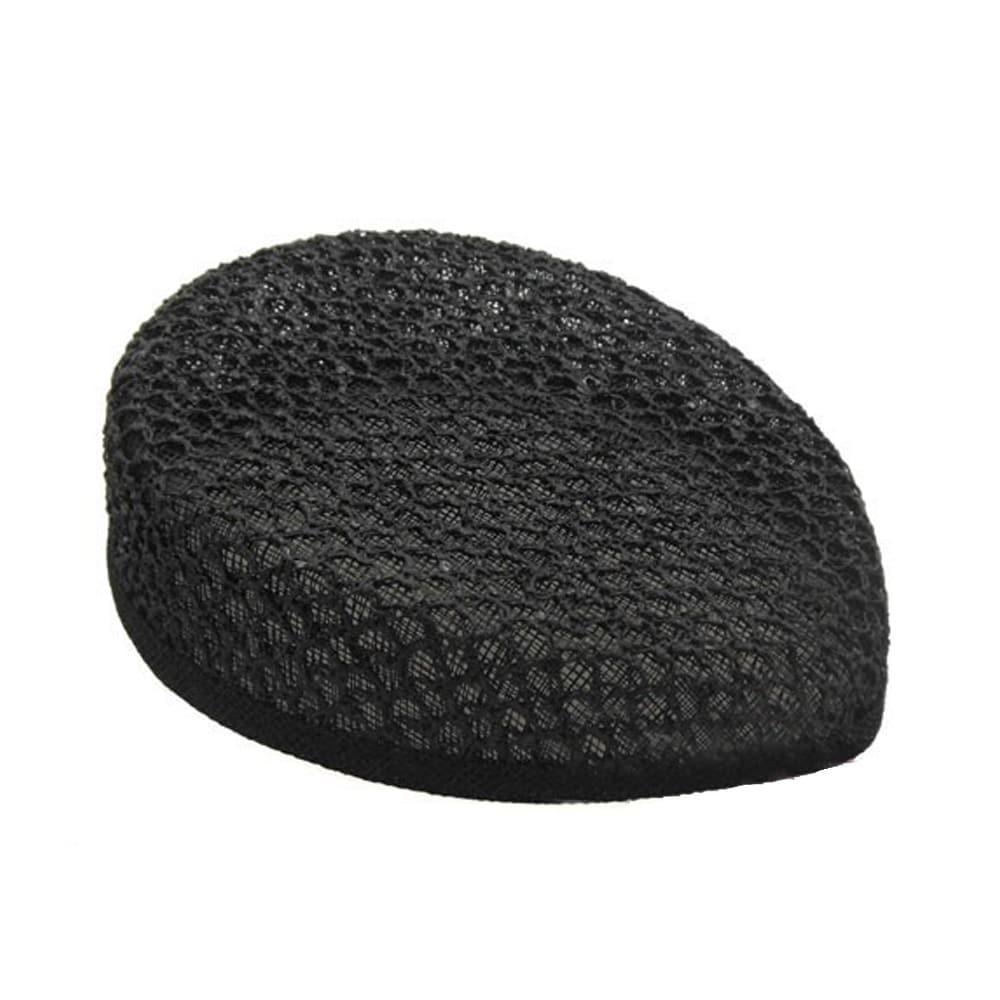 casquete lagrima con enrejado a mano negro