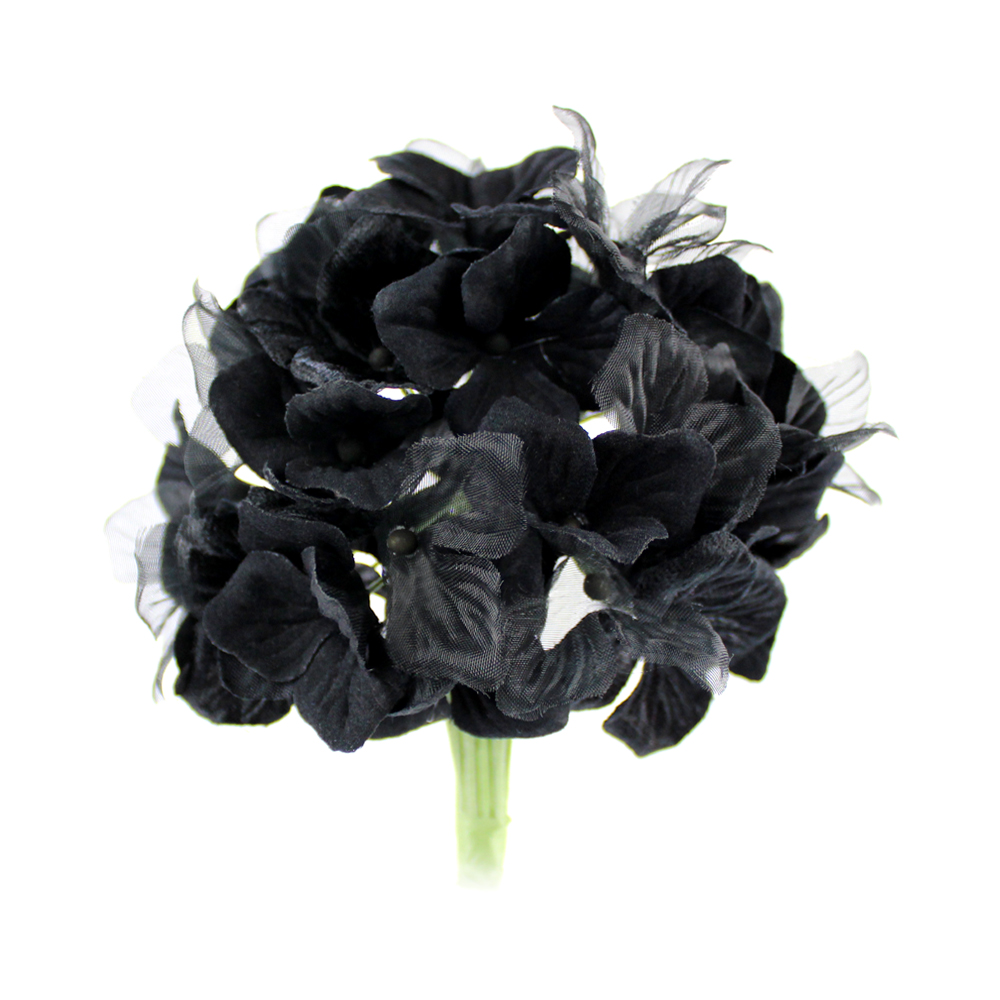 Hortensia Hydrangea 10 cm negro