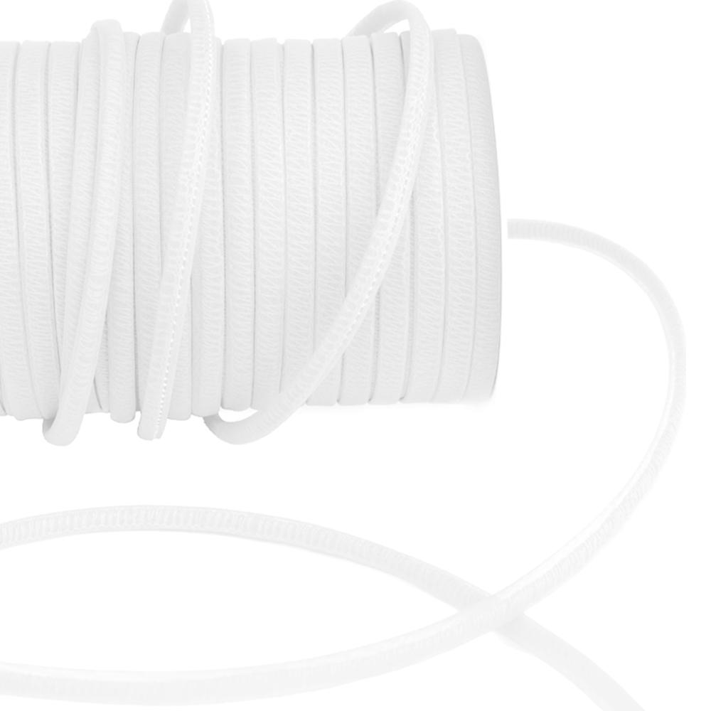 Espagueti organdí 7 mm blanco
