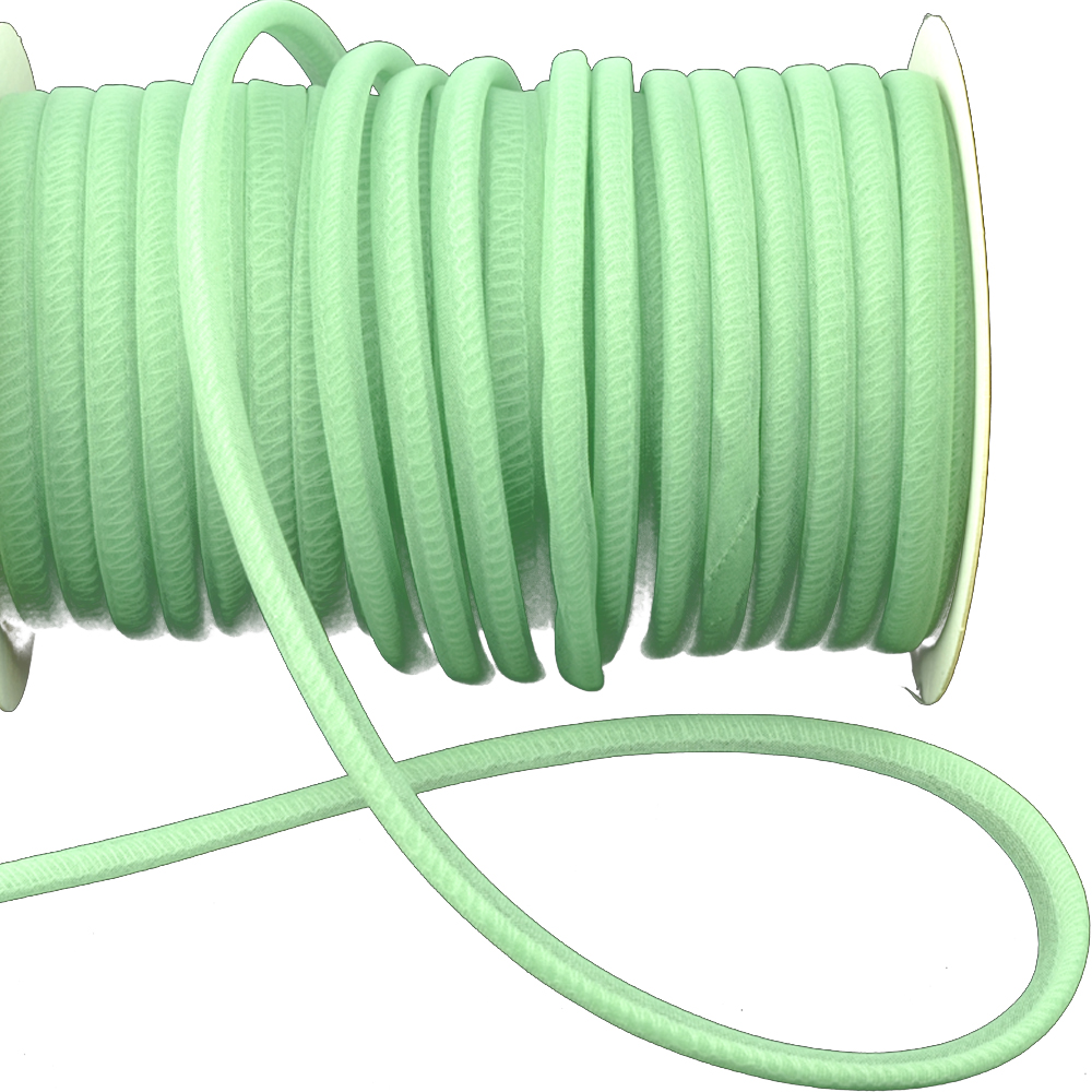 Espagueti organdí 7 mm verde claro