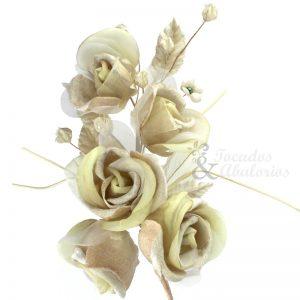 Ramo 5 Rosas 21x10 cm