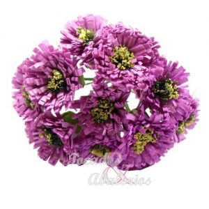Ramillete 12 flores margarita 10x7 cm
