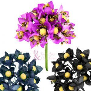 ramillete 12 flores 10x8 cm