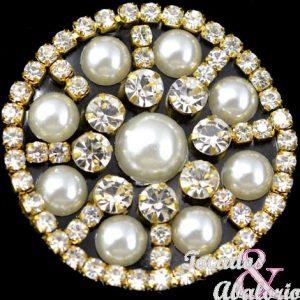 Aplicacion perlas y strass