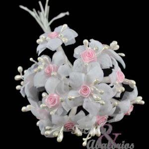 Ramillete pistilos/mini rosa