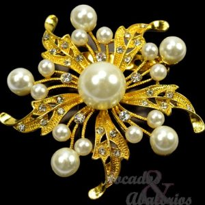 Broche Estrella perla