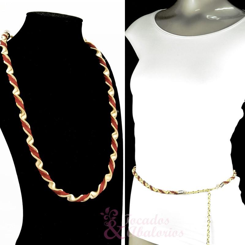 Cinturón/Collar Helicoidal