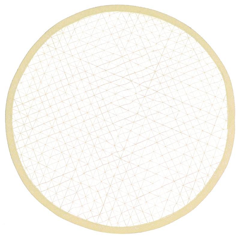 Disco sinamay enrejado
