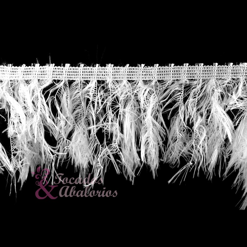Fleco simil plumas 10cm