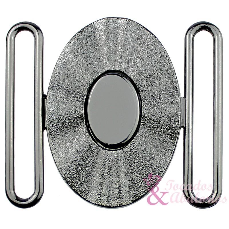hebilla OVAL 60 mm metal