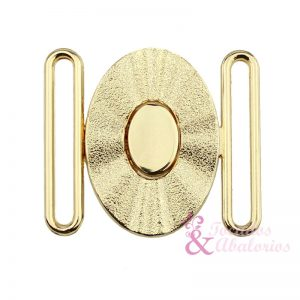 hebilla OVAL 40 mm metal