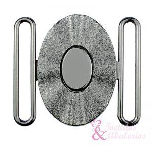 hebilla OVAL 50 mm metal