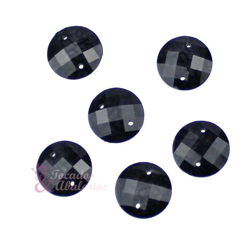 Aplicación circular marmoleada 12 mm
