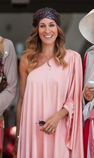 Carrie Bradshaw turbante