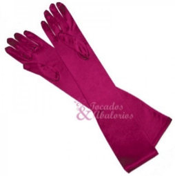 guantes de raso