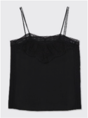 top lencero en color negro de Comptoir