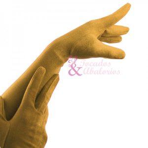 guantes largos antelina