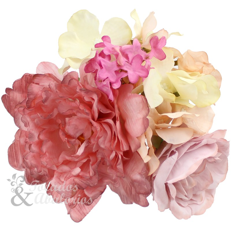 Conjunto floral Rocío