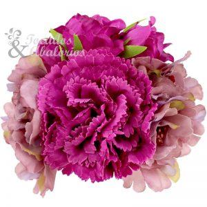 Conjunto Floral Púrpura