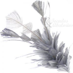 Pomo de plumas Silver