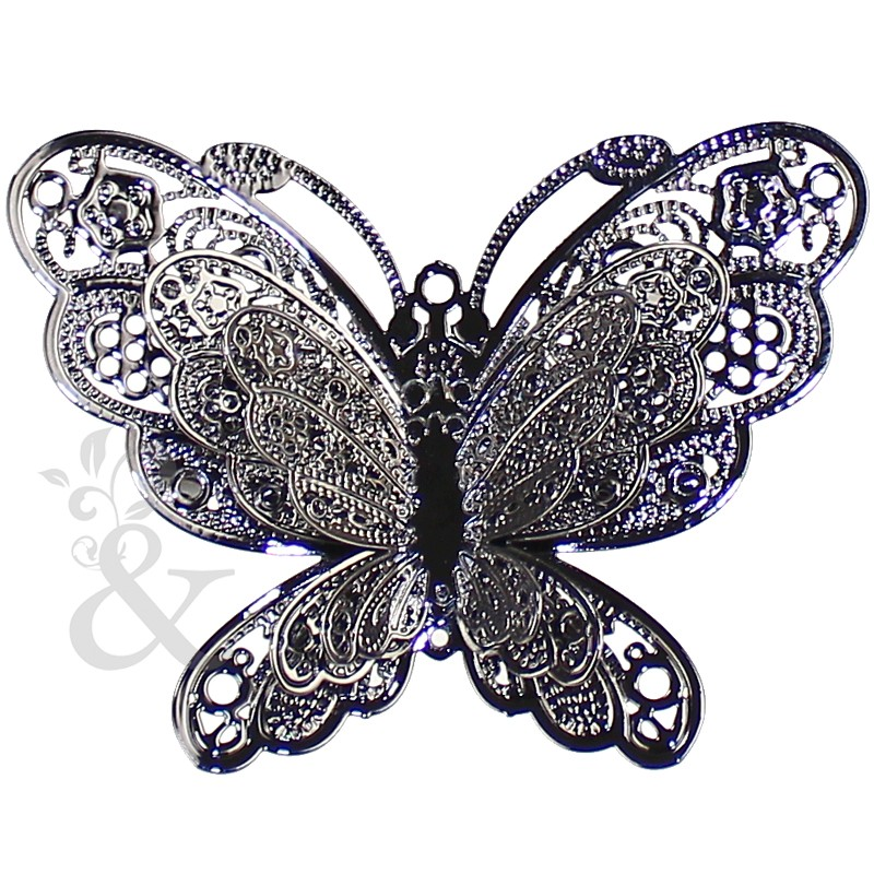 Broche Mariposa metal