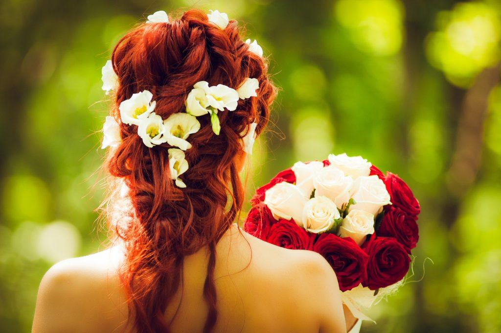 Tocado para novias