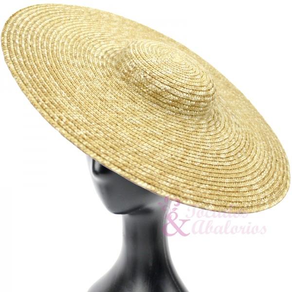 Sombrero de paja Tocados y Abalorios