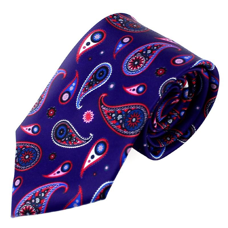 Corbata Aquiles Paisley