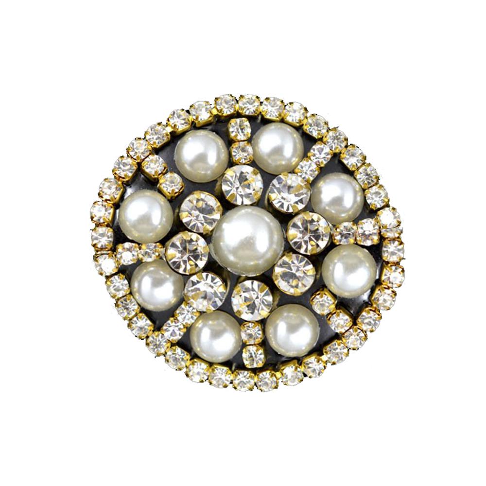 Aplicación perlas y strass