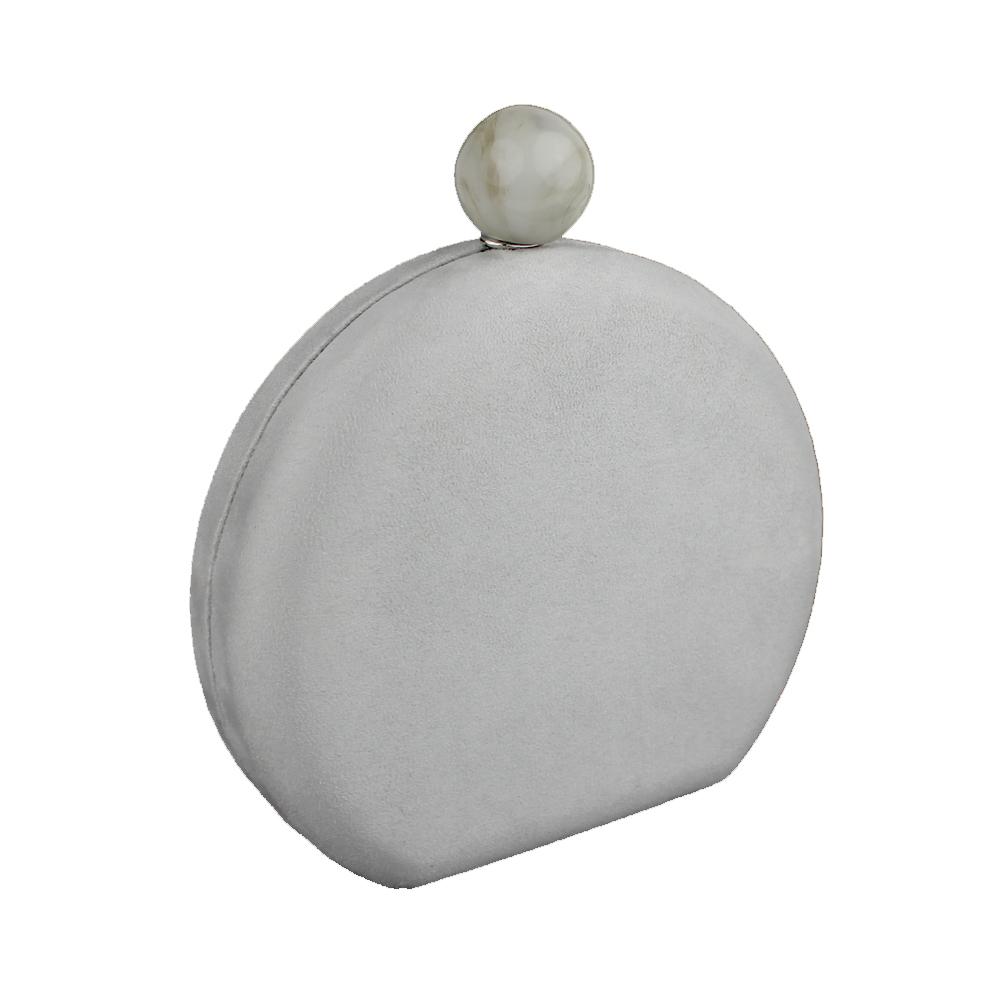 BOLSO MURILLO gris plata
