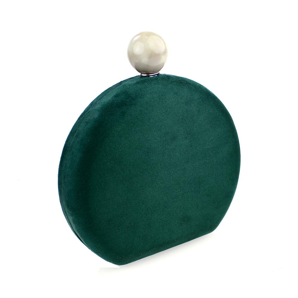 BOLSO MURILLO verde botella