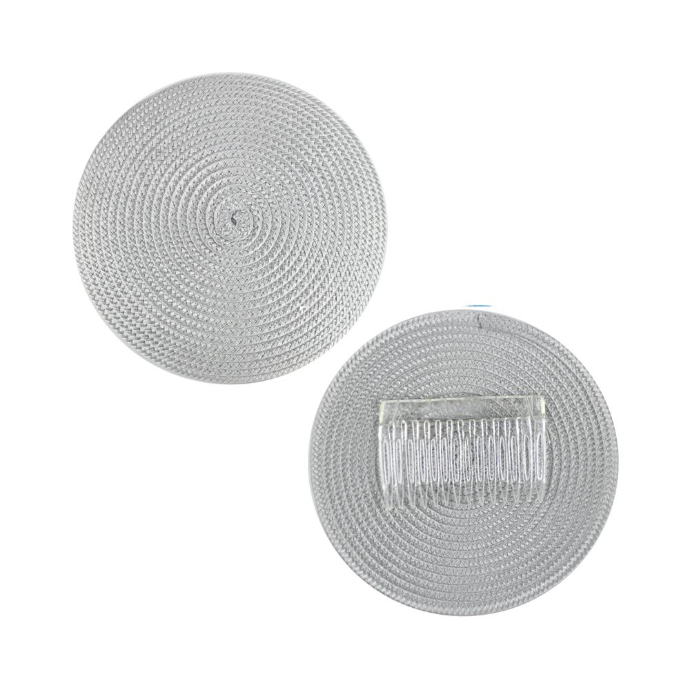 Base 14 cm polipropileno con peina gris