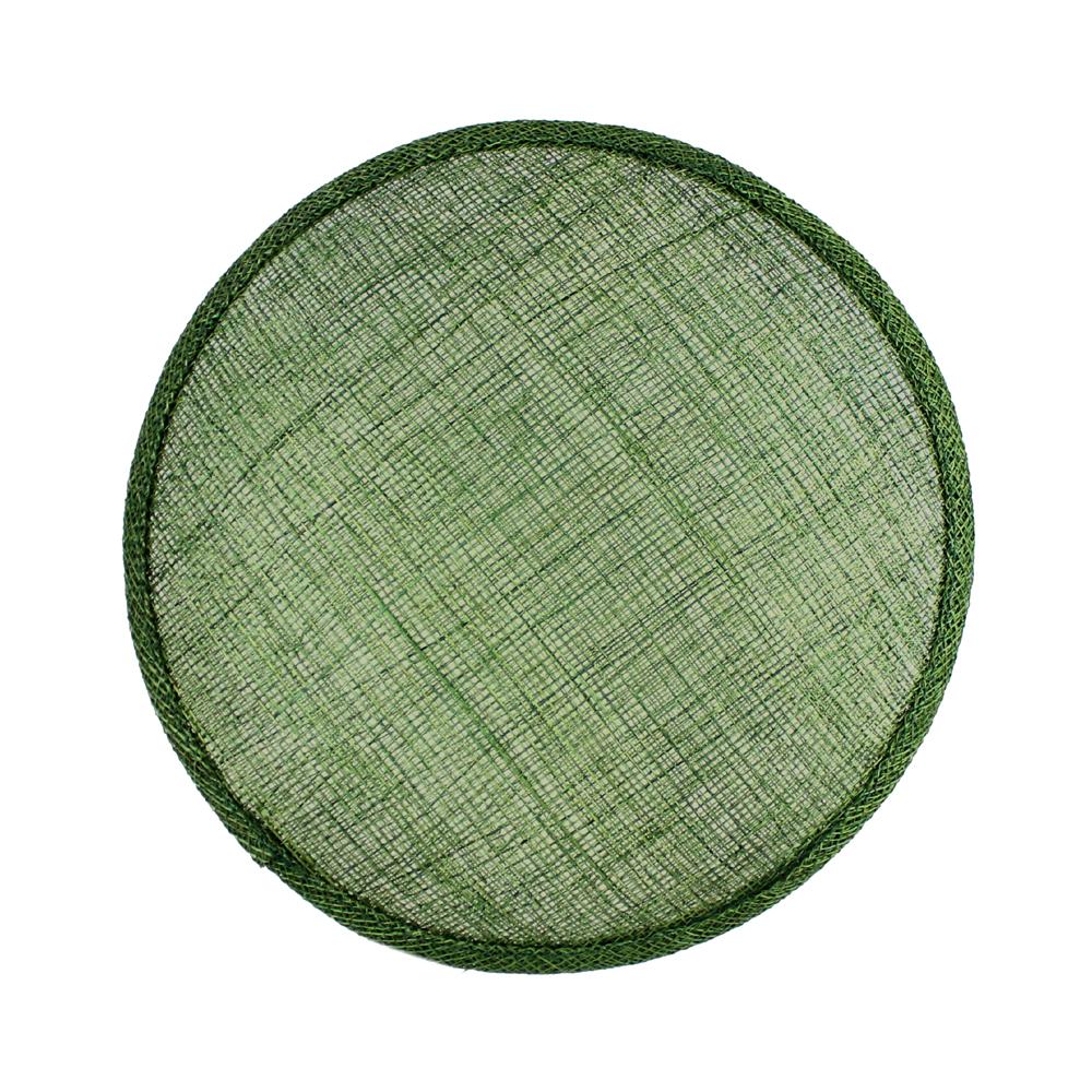 Base Circular 16 cm verde oliva