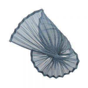 Base Maorí (sinamay seda) azul marino