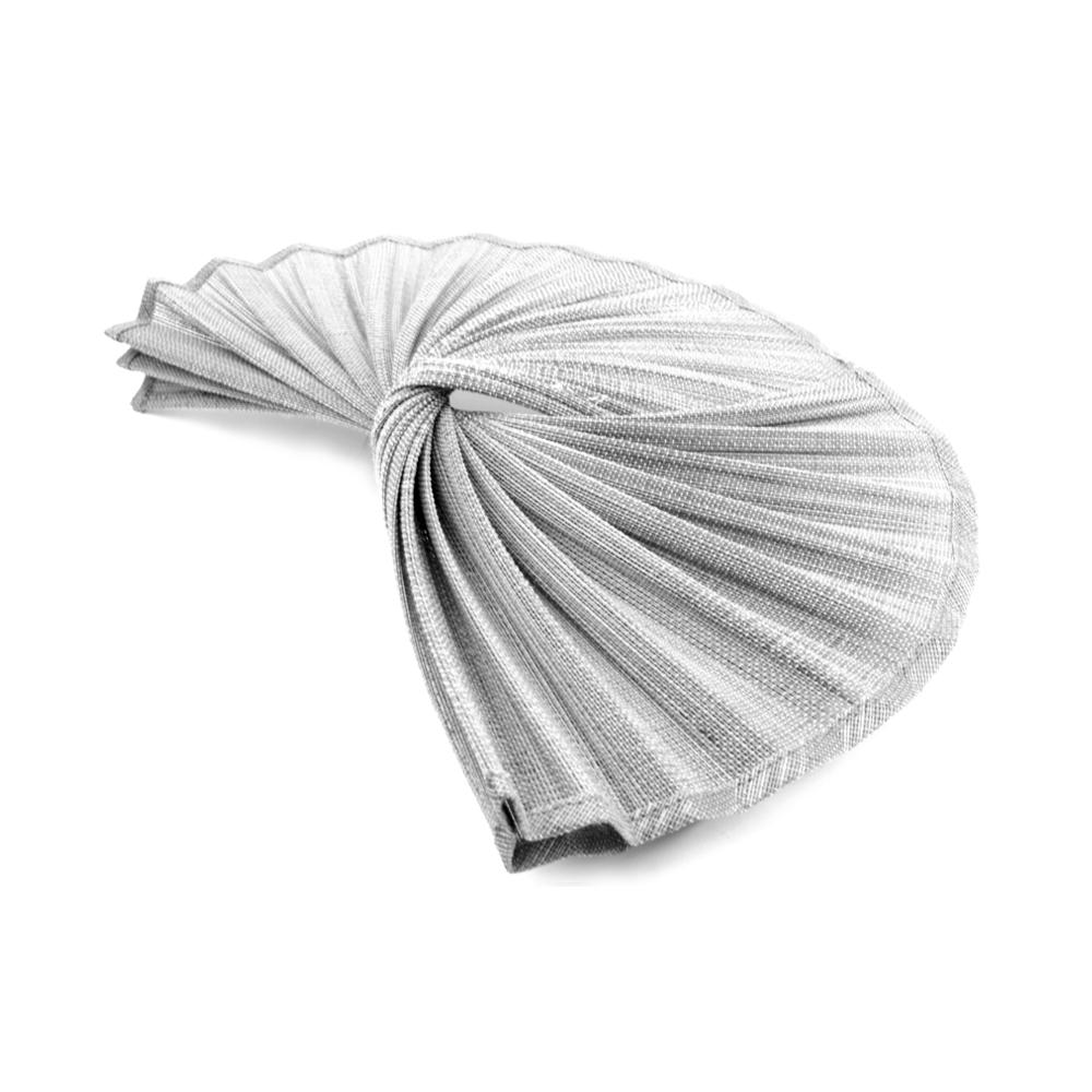 Base buntal Abanico gris plata