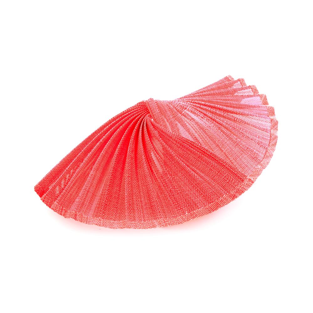 Base buntal Abanico rojo medio