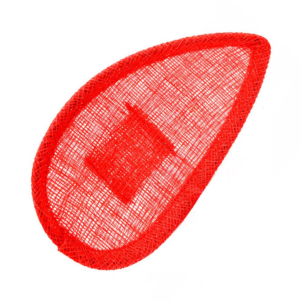 Base lágrima con soporte rojo