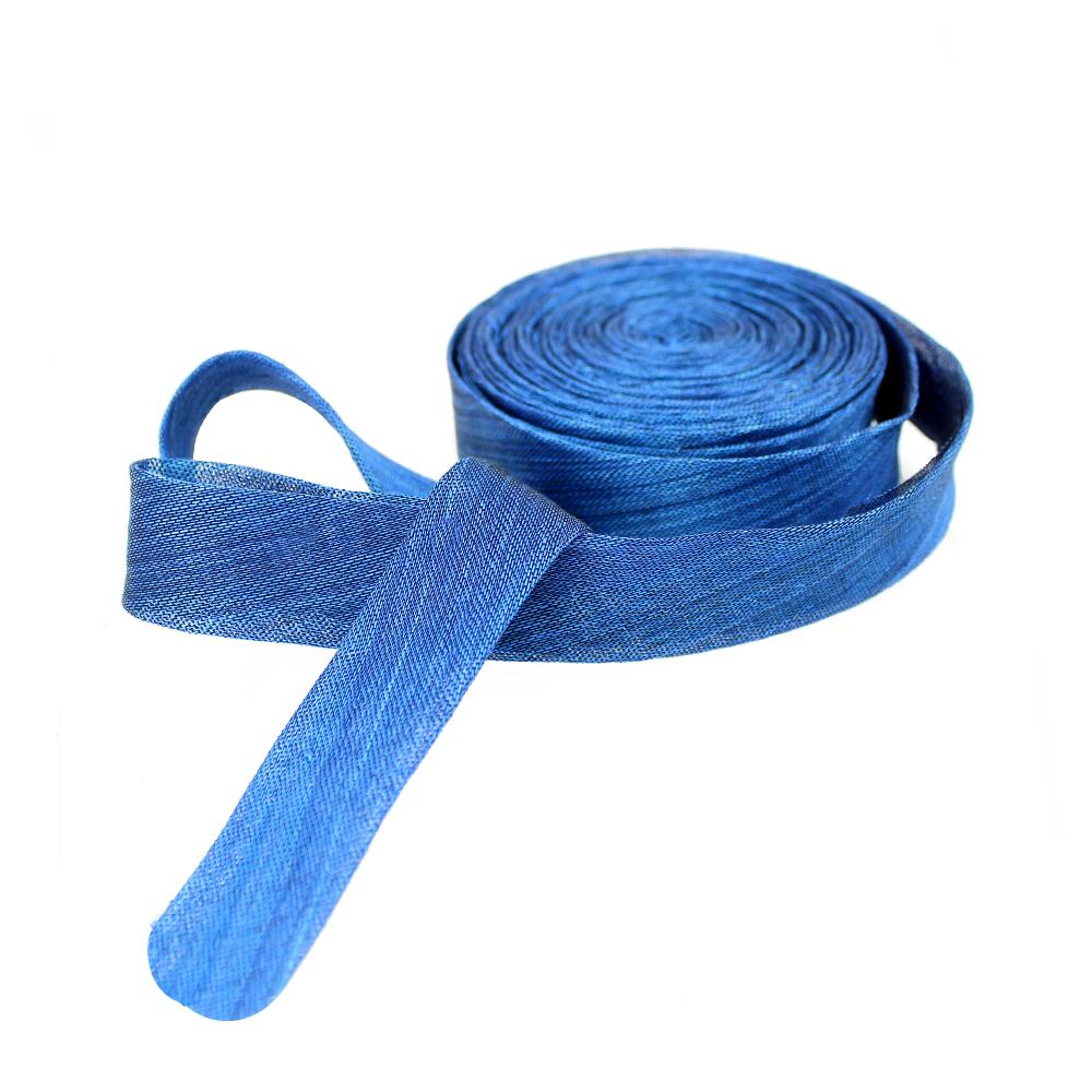 Bies sinamay seda 3 cm azul klein