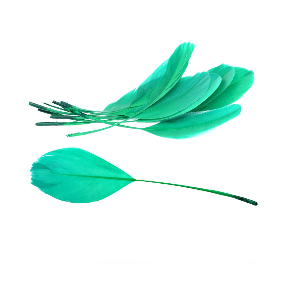 Bolsa plumas antena 15 cm jade