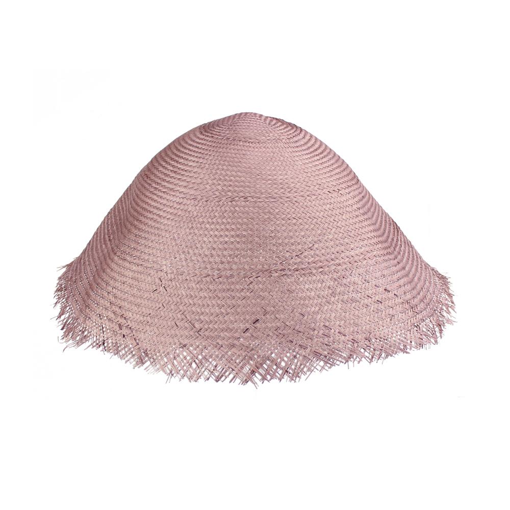 CAPELINA BUNTAL 40 CM rosa nude oscuro