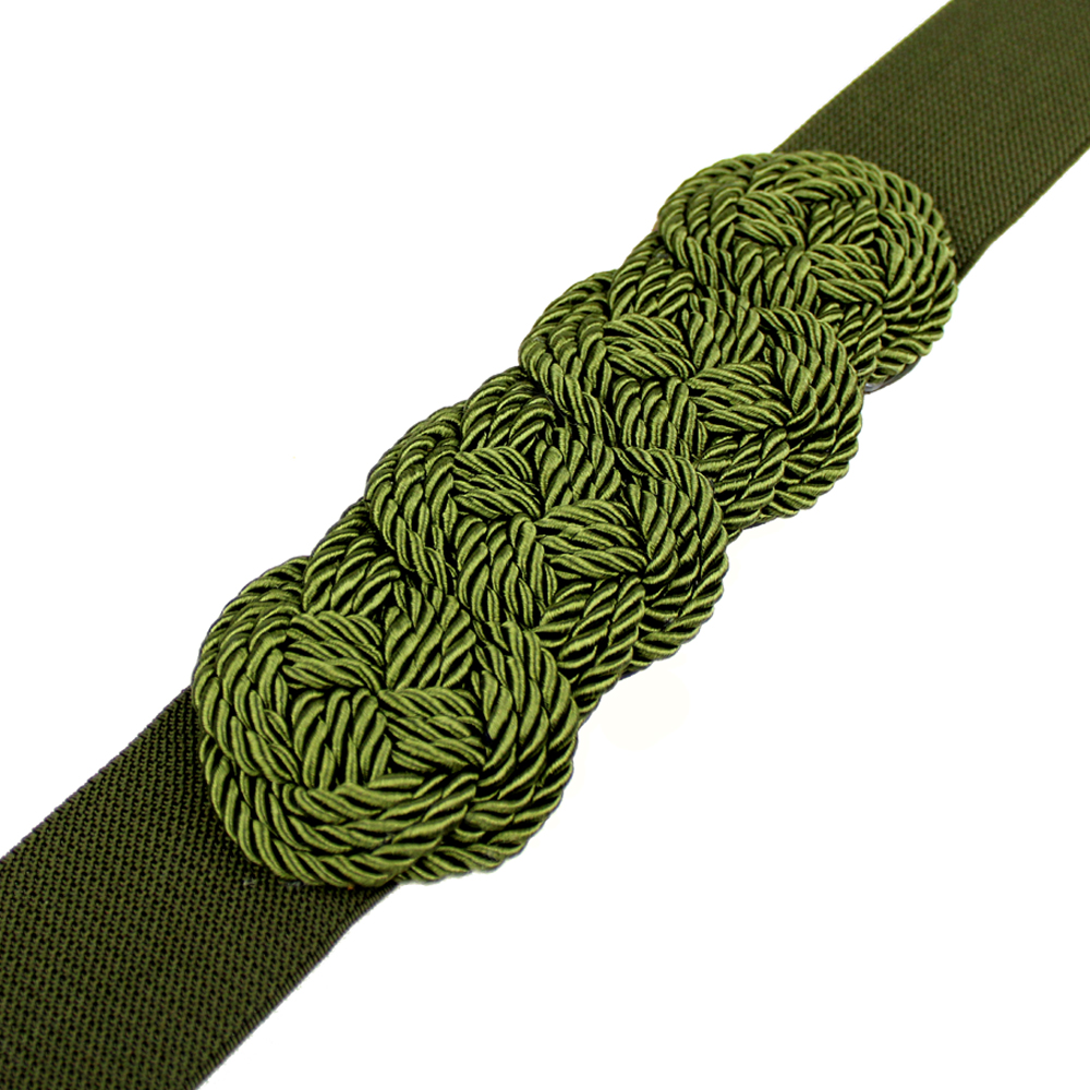 CINTURÓN STELLA verde