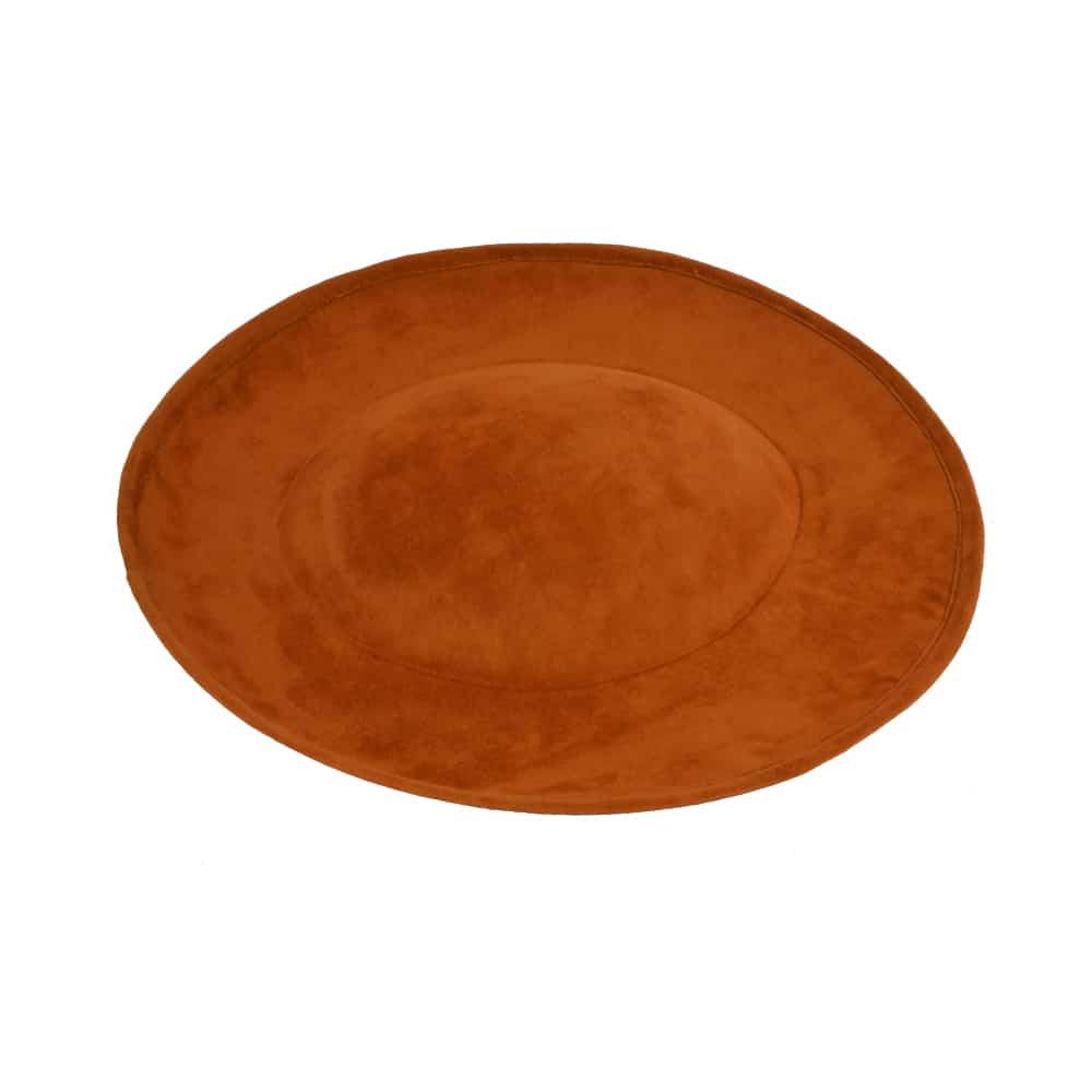 Cancún Aterciopelada marrón teja